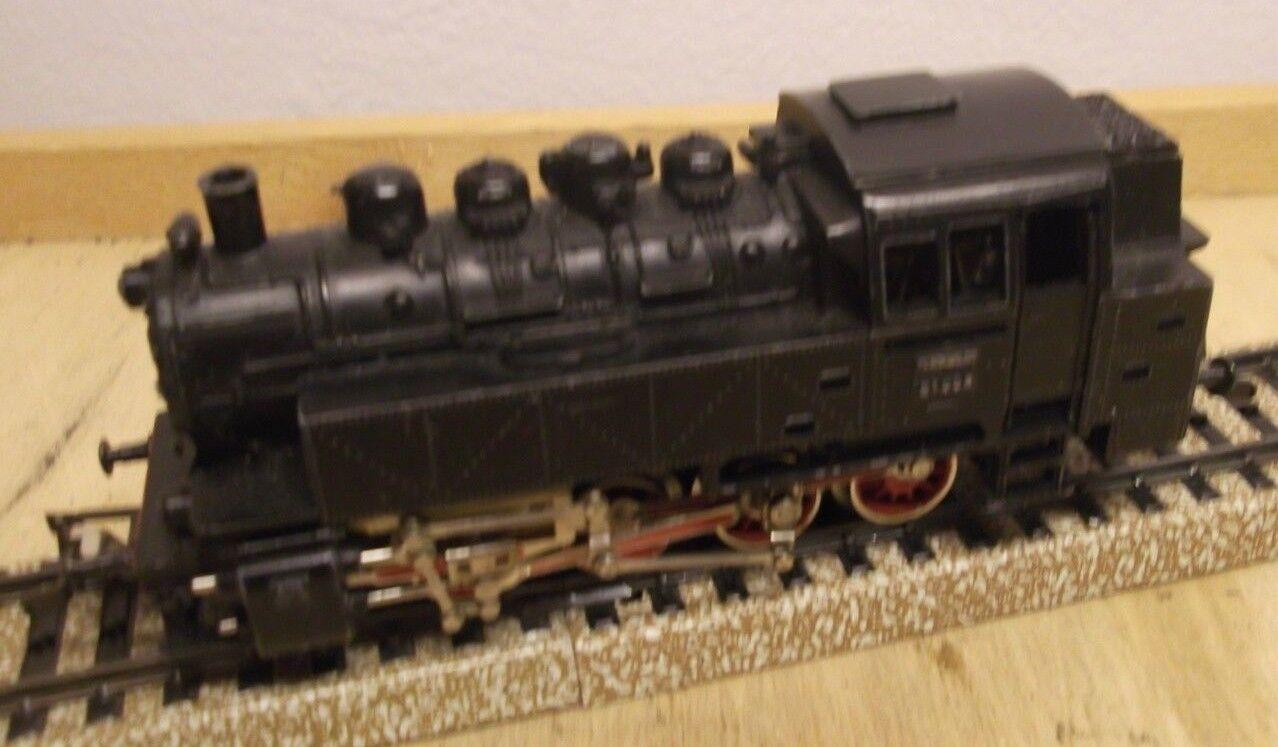 Märklin H0 3032 Tender Steam Locomotive 81 004 Db with Telex - Function Tested