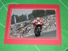 2006 MotoGP World Champion Nicky Hayden Signed & Mounted Photograph