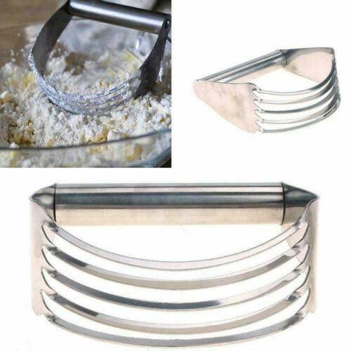 Stainless Steel Pastry Dough Cutter Blender Mixer Whisk Tool Kitchen Y3Q1 B X0Z9