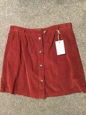 M&S Indigo Collection Fine Cord Mini Skirt BNWT Size 12