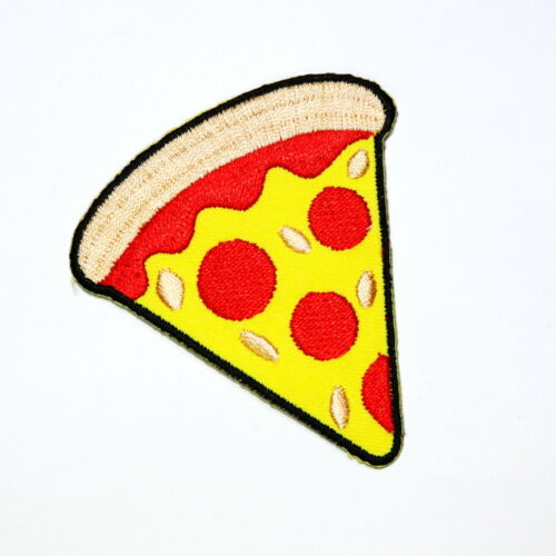 Pizza Artwork Italian Food Cute Cartoon Clothing Jacket Shirt bag Iron on patch