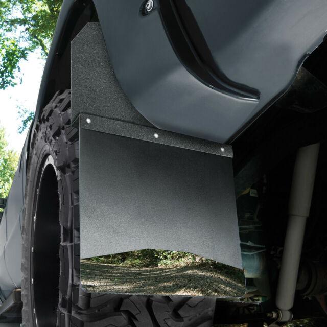 "Husky Liners 17112 Pair of Universal Black 14/"" Wide Kick Back Mud Flaps"