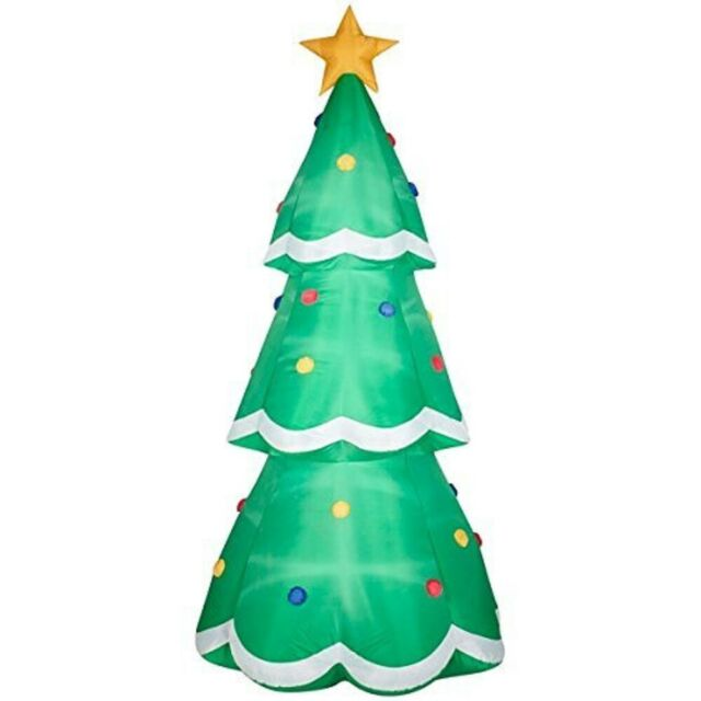 Airblown Inflatable Christmas Tree Giant 10ft Tall By Gemmy Industries For Sale Online Ebay