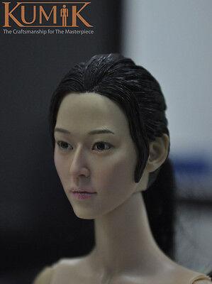 NEW KUMIK KM15-35 Male Head Sculpt Men Headplay 1//6 Figure