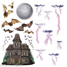 Halloween Horror Scene Setter Add-on Prop HAUNTED HOUSE