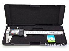 """6"""" Stainless Steel 150mm Digital Vernier Caliper Micrometer Gauge LCD Display"""