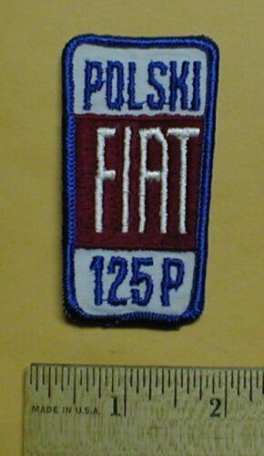 Hat patch FIAT Polski 125p Lancia Delta UNO TIPO PUNTO BRAVO Alfa Romeo 1980s