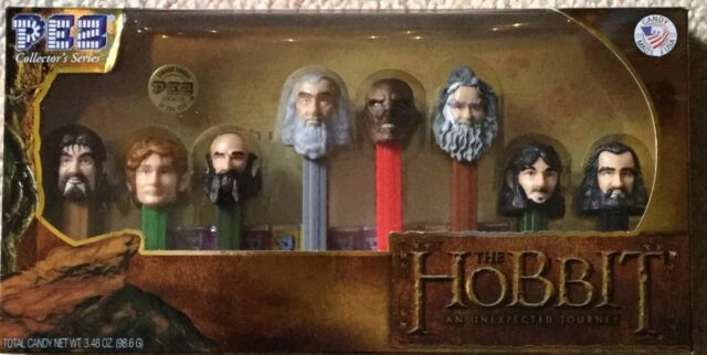 PEZ THE HOBBIT *AN UNEXPECTED JOURNEY* CANDY  DISPENSERS GIFT COLLECTIBLES