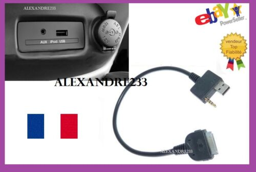 Hyundai Kia iPod câble audio aux usb interface adaptateur plomb iphone 4 4S