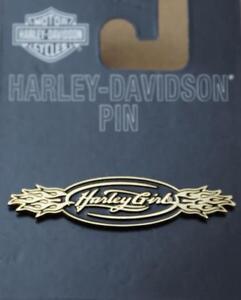 Harley-original-Pin-Anstecker-Anstecknadel-Harley-Girl