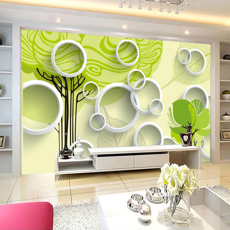 3D Grünes Grünes Grünes Baum Muster 7998 Tapete Wandgemälde Tapeten Bild Familie DE Jenny | Billig  | Neuankömmling  | Qualität und Quantität garantiert  4a39e0