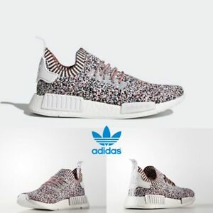 0919bcafacca Adidas Original NMD R1 PK Rainbow Boost Sneakers Shoes Multicolor ...
