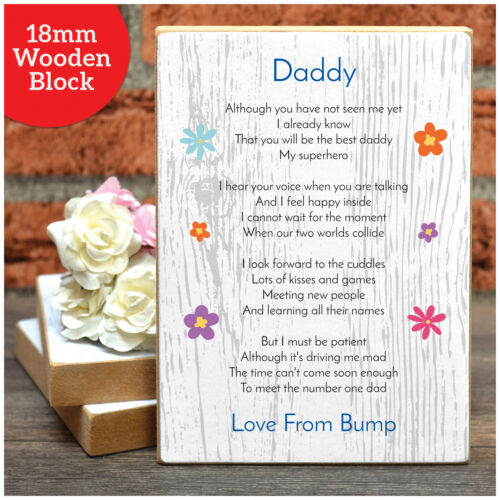 Personalised Birthday Gifts from Bump Daddy To Be Bump Gifts for Daddy Dad