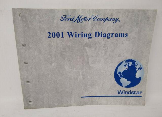 OEM 2001 FORD WINDSTAR WIRING DIAGRAMS MANUAL | eBay