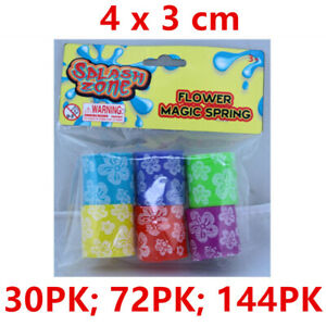 Mini Slinky Flexible Magic Spring Toy Kids Party Loot Flower Plastic Favour WM