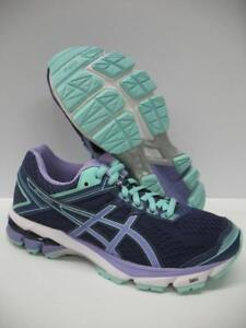 Asics-T5A7N-GT-1000-4-Running-Training-Shoes-Sneakers-Blue-Purple-Girls-Womens-5