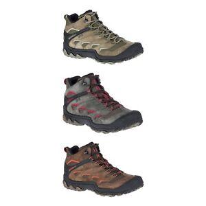 Nouveau-Merrell-Chameleon-7-Limit-Mid-Waterproof-Hommes-Trail-Chaussures-De-Randonnee-Toutes-Tailles
