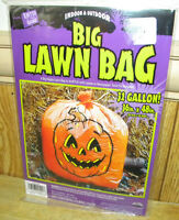 Fun World Giant Pumpkinhead Leaf Bag Halloween Outdoor Lawn Decor