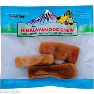 FRESH Himalayan Dog Chew SMALL 3-5 PIECES Dog Treat Bone Snack Chew GENUINE