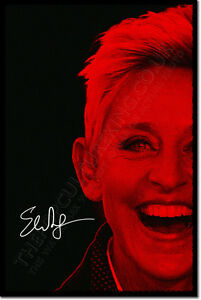 ELLEN-DEGENERES-ART-PHOTO-PRINT-POSTER-GIFT