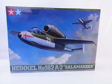 LOT 6064   Tamiya 61097 Heinkel He162 A-2 Salamander 1:48 ungebaut NEU in OVP