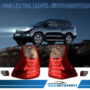 LH-amp-RH-Pair-Tail-Light-Lamp-For-Toyota-Landcruiser-Prado-150-S2-2013-2017