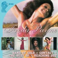 Freda Payne - Band Of Gold / Contact / Reaching Out [new Cd] Uk - Import on sale
