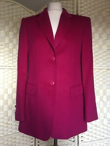 Angora Ladies Uk Taglia Ultra Donna Pink 10 Basler lana Jacket 36 Tailored Soft aqTwxX