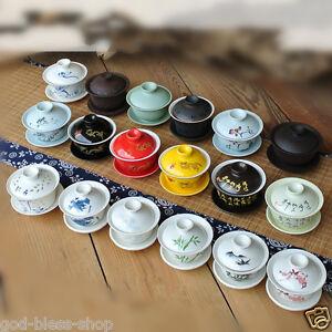 China-zisha-gaiwan-tea-bowl-lid-saucer-tureen-blue-and-white-porcelain-cup-set