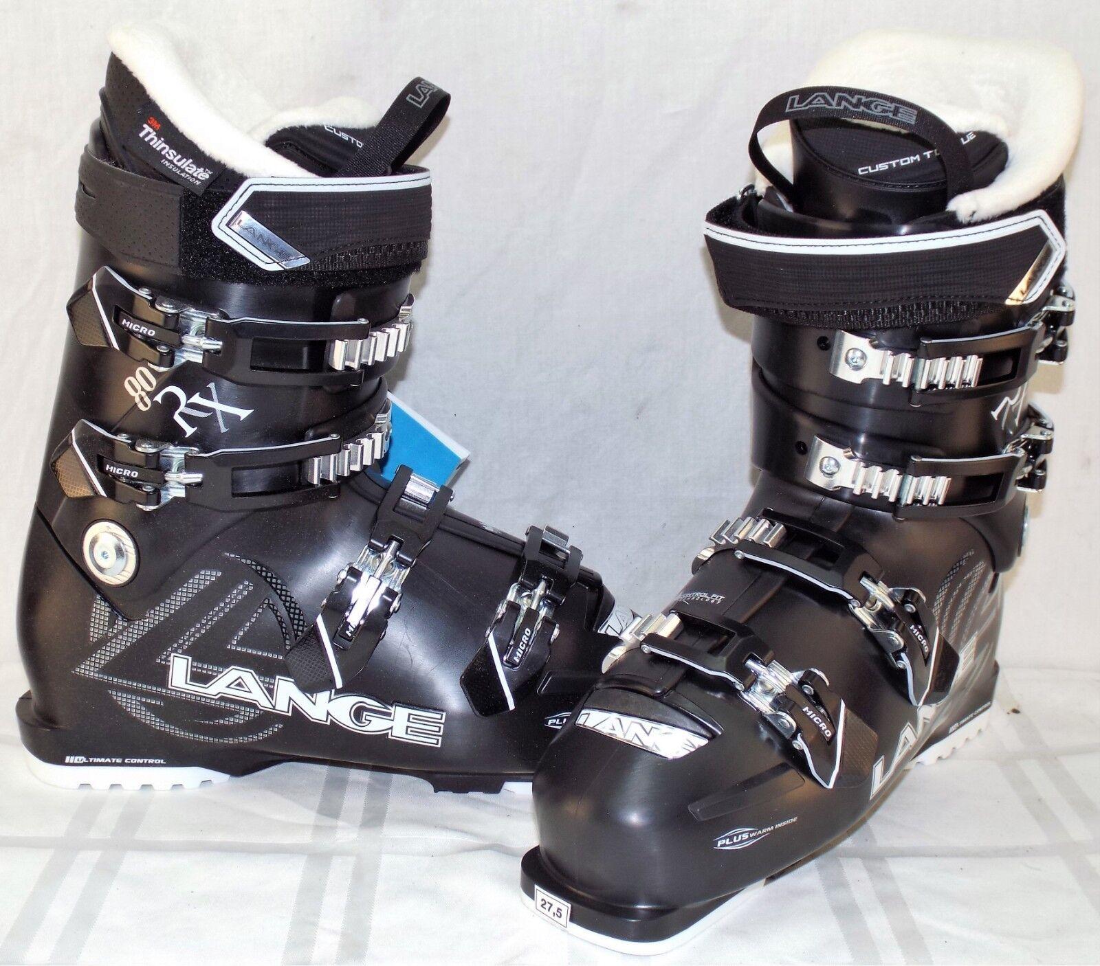 Lange RX 80 New Women's Ski Boots Size 27.5