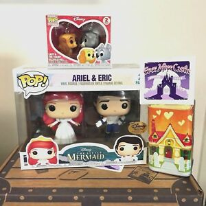Funko POP Disney Treasures Box Princess Ariel & Eric Ever After - NEW & SEALED
