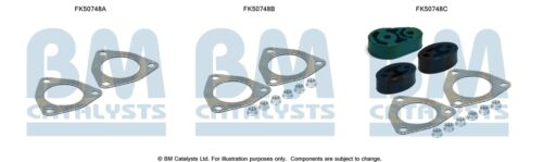 FK50748B FITTIING KIT FOR EXHAUST CONNECTING PIPE  BM50748