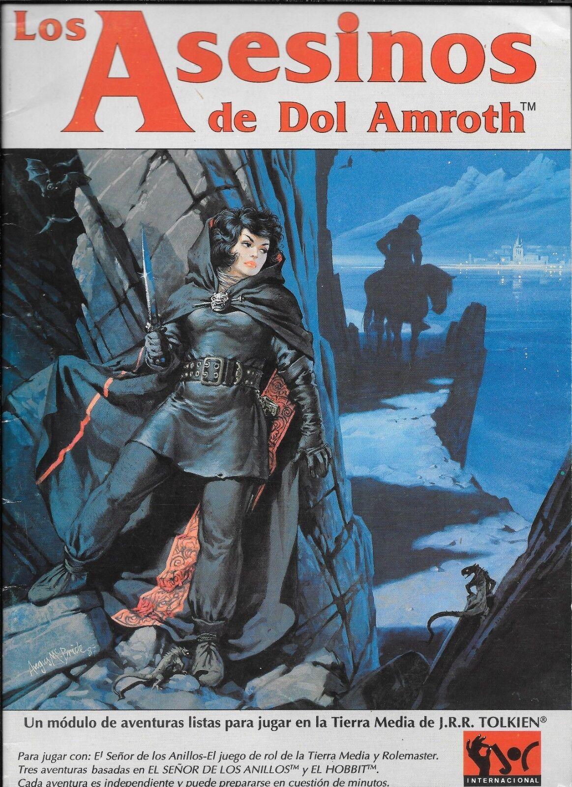 LOS ASESINOS DE DOL AMrougeH JOC 303 rol MERP ICE 1993 Señor de los Anillos