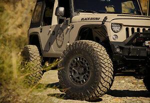 Jeep Wrangler Rhino >> 20 Black Rhino York Wheels For Jeep Wrangler Rubicon 5x127mm Rims