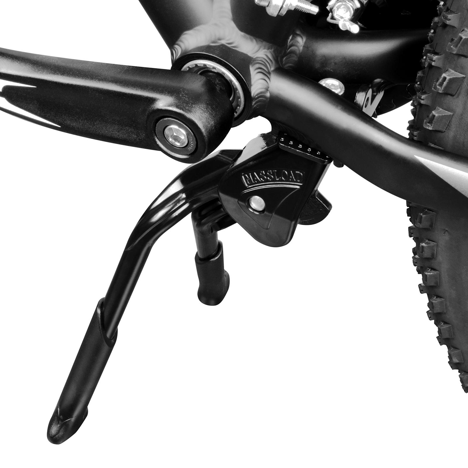 BICYCLE KICKSTAND W//PLATE CENTER MOUNT ADJUSTABLE ROAD MTB CRUISER CHOPPER