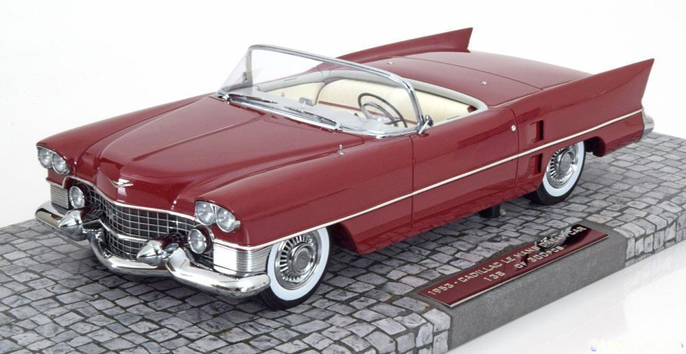 ILLAC LE MANS DREAM CAR 1953 DARK rouge MINICHAMPS 107148231 1 18 FIRST CLASS