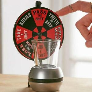 Roulette-Toy-Spinner-Spin-The-Shot-Turntable-Alcohol-Drinks-For-Bar-amp-Nightclub