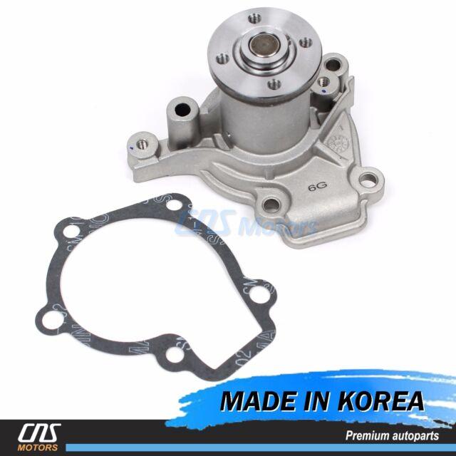 Engine Water Pump Fits 99-12 Hyundai Kia 2.0L DOHC G4GF 25100-23022