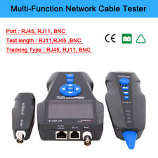 Sutinna Portable RJ11 Network Cable Tester Network Tester Wire Tracker Detector Tone Line Finder Detector Networking Tool