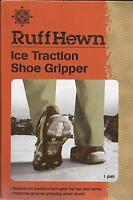 Ruff Hewn Ice Traction Shoe Gripper Size L 7.5 - 10.5