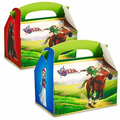 CHILDRENS BIRTHDAY PARTY FAVORS (24) THE LEGEND OF ZELDA EMPTY BOXES