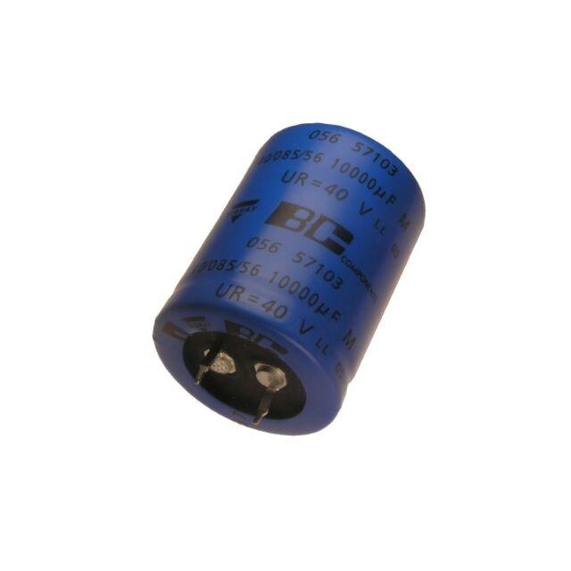 1000uF 105° Elko Radial 35V 1000µF BC Components MAL215060102E3  8 Stück