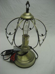 14 Inch Touch Lamp Base And Shade Only