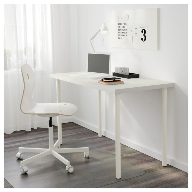 Ikea Linnmon Adils Table Effect White Desk 120x60 Cm