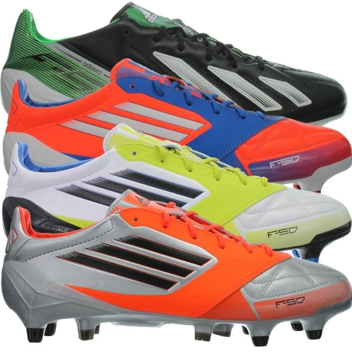 Adidas F50 ADIZERO XTRX SG LEATHER men's football boots shoes studs cleats NEW