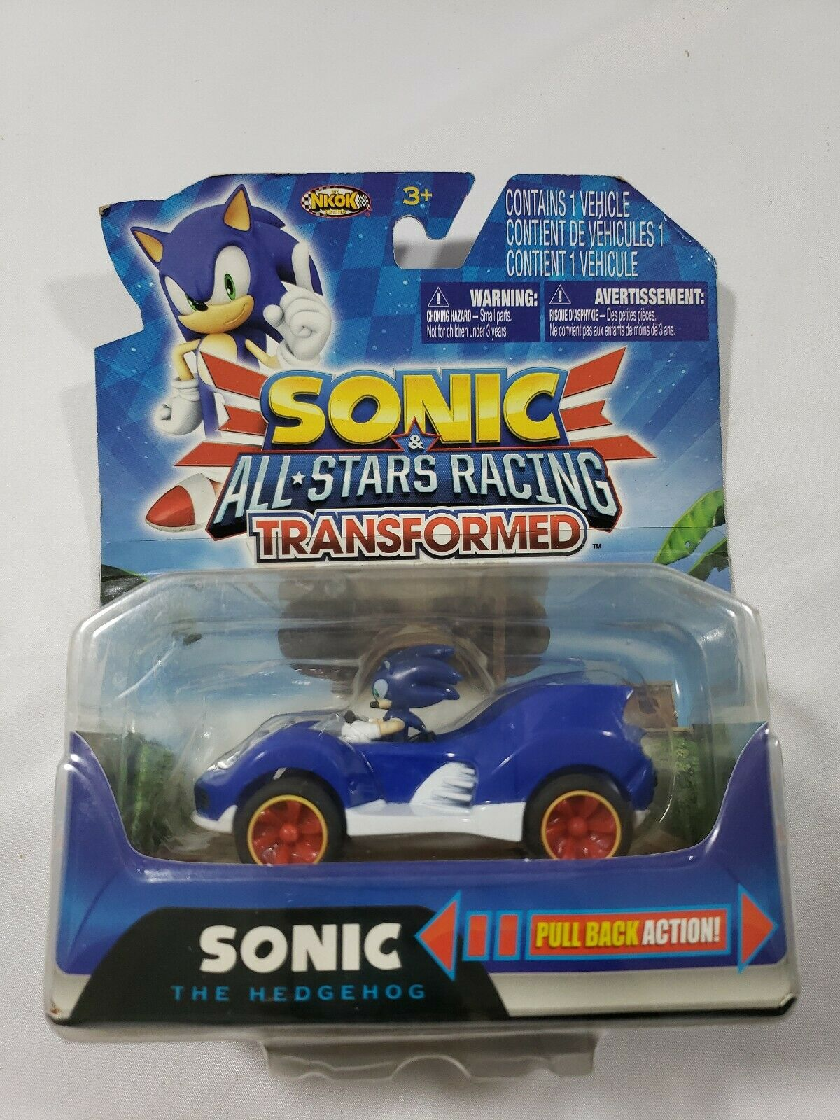 co420265 Transformed pullback carSonic /& All-Stars RacingNEUF-NEW!!!