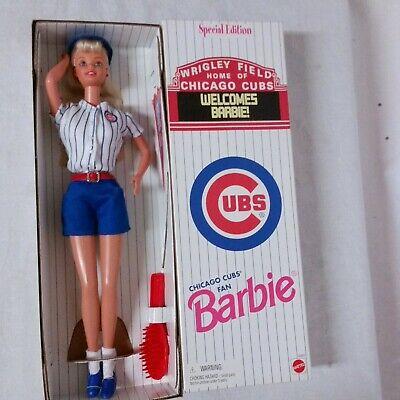 Chicago Cubs Barbie Mattel