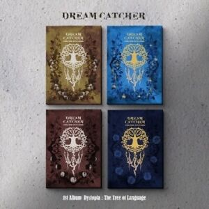 DreamCatcher-Dystopia-The-Tree-Of-Language-1st-Album-CD-Booklet-Card