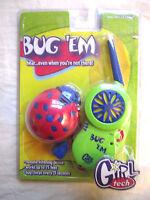 Vintage 1998 Radica Girl Tech Bug 'em Electronic Toy Bugging Listening Device