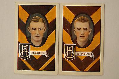 HAWTHORN - H.Mills / B.Hyde - 1930's Vintage Allens Cards.